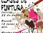 Clases de Pintura en el Ateneo Cultural Ecijano.