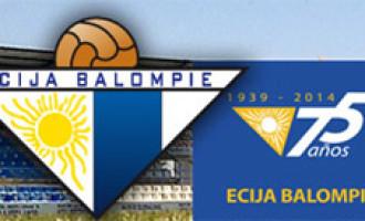 El Écija celebra esta temporada el 75 Aniversario del club y quiere que la selección nacional sub 21 esté presente.