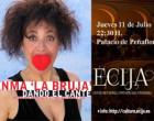 """En los """"Jueves en Pareja"""" en Écija: Inma La Bruja """" Dando el Cante""""."""