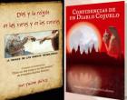Dos escritores de Écija, Francisco Fernández-Pro y Juan Palomo, presentan sus últimas publicaciones en la Feria del Libro de Sevilla.