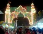 Se inaugura la Feria de Écija 2014 con el encendido del alumbrado