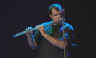 El músico de Écija, Nacho Botonero, presente en la grabación del grupo O Sister!