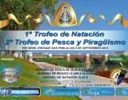"""El Club de Piragüismo Écija y el Club de Pesca """"Deportiva Ecijana"""" organizan el 1º Trofeo de Natación y 2º Trofeo de Pesca y Piragüismo en las aguas del Genil"""