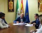 El ayuntamiento de Écija firma un convenio de colaboración con la Cámara de Comercio Italiana en Sevilla