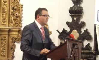 Ceferino Aguilera realizó la Presentación de La Glorias de María de Écija