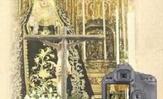 Inaugurada la exposición dedicada a  Nuestra Señora de los Dolores de de la Hermandad de Santiago de Écija