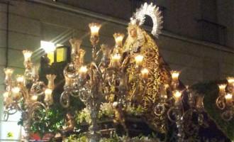 La Virgen de los Dolores de Santiago realizará, el sábado, su salida extraordinaria