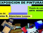 Exposición de pinturas del artista Damián Atenciano en el Museo Histórico Municipal de Écija
