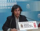 Fernando Martínez del PSOE de Écija valora en rueda de prensa el Pleno de 28 de marzo