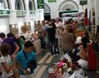 Gran afluencia de público en el Mercado de Oportunidades de la Plaza de Abastos de Écija
