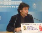 AUDIO rueda de prensa de Fernando Martínez, del PSOE de Écija, previa al Pleno de este jueves 28