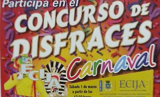 Abierto el plazo de inscripción para el Concurso de Disfraces del Carnaval de Écija