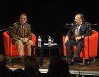 TRASTABLAOS 2014 EN LA UNIVERSIDAD DE SEVILLA. Manuel Martín Martín con Paco Cepero