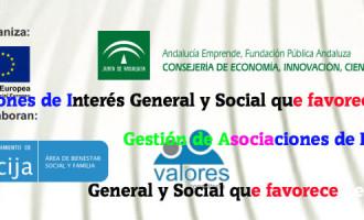"""Jornada en Écija de """"Gestión de Asociaciones de Interés General y Social que favorecen el Empleo""""."""