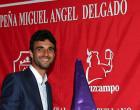 Miguel Ángel Delgado muestra en Écija el Cartel de San Isidro 2014
