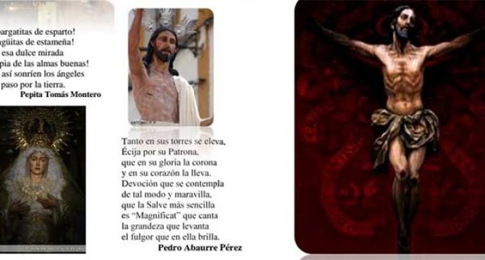 UN LUGAR DE LA LITERATURA ECIJANA: LA POESÍA SACRA por Ceferino Aguilera