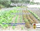 El Ayuntamiento de Pedrera publica las bases que regularán el acceso a 70 huertos sociales
