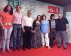 Mitin de la secretaria general del PSOE de Sevilla, Verónica Pérez, en Écija
