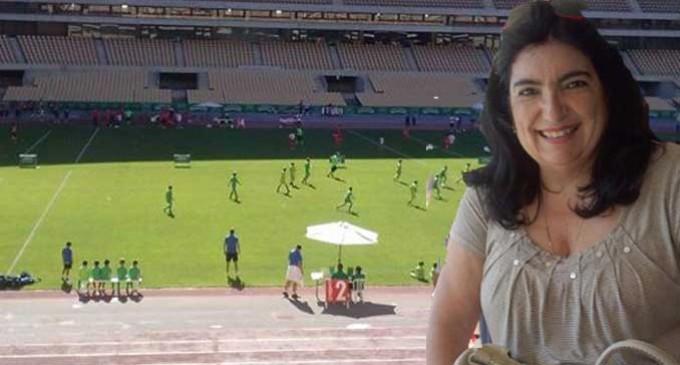 Un día con Rosario y la Escuela de Fútbol de Écija en el Estadio Olímpico de Sevilla