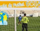 Acto de apertura de la Escuela Municipal de Futbol de Écija