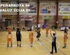 Un Nevaluz Écija Basket combativo cae en la pista del CP Peñarroya
