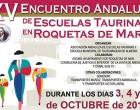 El sábado en Canal Sur, la Escuela Taurina de Écija en XV Encuentro de Escuelas