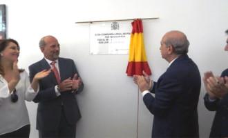 El ministro del interior, Jorge Fernández Díaz, inaugura la nueva Comisaría de Policía de Écija