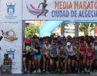 Ángel Nicolás Rodríguez de Écija, segundo en la Media Maratón de Algeciras en la categoría Veteranos E