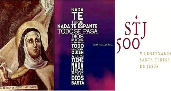 ÉCIJA CON SANTA TERESA DE JESÚS por Ceferino Aguilera Ochoa
