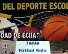 El Ayuntamiento de Écija celebra la XV edición del Día del Deporte Escolar