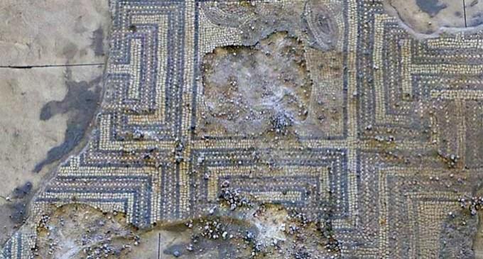 El Mosaico de Écija expoliado espera la financión privada para ser restaurado