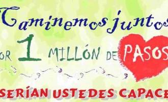 Écija colabora en la sexta edición del proyecto Por un Millón de Pasos
