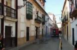 Arde la última planta del edificio del hotel de los Granados de Écija (video)