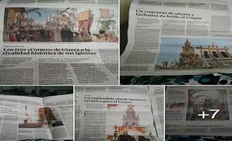 A QUIÉN CORRESPONDA ¿Por qué el Corpus de Écija pasa desapercibido para la prensa de la provincia?