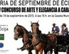 La Delegada de Desarrollo Socio-Económico de Écija explica los detalles del paseo de caballos y enganches