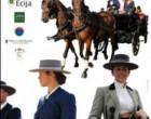 Fotografías de Ramón Soto en el cartel del  XXIV Concurso de Arte y Elegancia a Caballo de la Feria de Écija