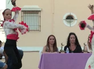 Primer y segundo premios de sevillanas de dos parejas de Écija en un concurso en Utrera (video)