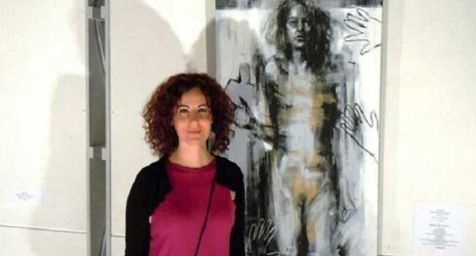 Evita Andújar, una artista de Écija de reconocido prestigio afincada en Italia