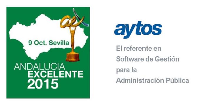 La empresa Aytos de Écija, galardonada con el Premio Andalucía Excelente 2015,