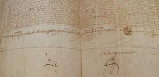 CURIOSIDADES: Documento de compra venta de unas casas en Écija en el año 1504