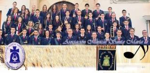 La Asociación Musical Santa María La Blanca de La Campana, acompañará a la Virgen de la Alegría en la Magna de Écija