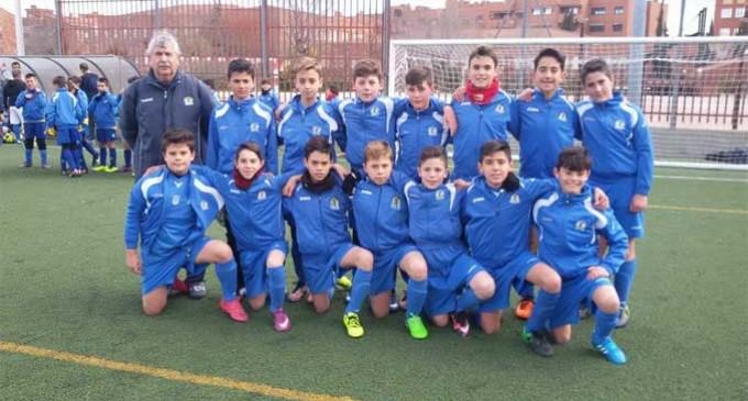 Gran jornada de la Escuela de Fútbol de Écija en Madrid