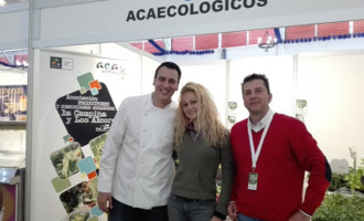 La Asociación de Productores y Consumidores Ecológicos  de la Campiña estuvieron en la III Edición de la Feria Alimentaria Sabor a Campiña.