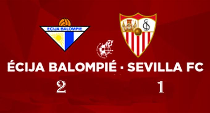El Écija se impone al Sevilla C por 2 goles a 1