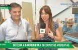 La empresa de Écija Woodart World en el programa Andalucia Directo de Canal Sur Televisión