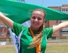 Primera medalla de bronce para la atleta de Écija, Ana Blanco, a nivel nacional (video)