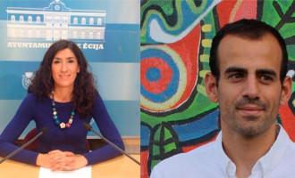 Silvia Heredia y Miguel Ángel Bustamante, de Écija, estarán en el Congreso de los Diputados