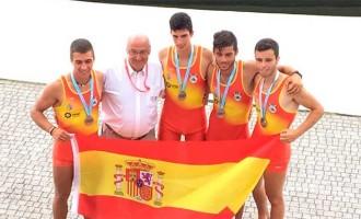 Imágenes de la carrera de las medallas de plata del remista Alfonso Berral de Écija