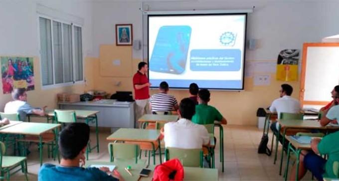 Comienza en la SAFA de Écija la tercera edición del curso de Instalación de Fibra Óptica.