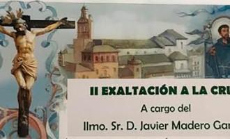II Exaltación de la Cruz en Écija, a cargo de D. Javier Madero Garfias